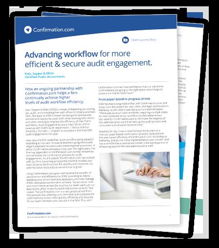 Descargue el estudio de caso sobre cómo mejorar la eficiencia de su flujo de trabajo de auditoría